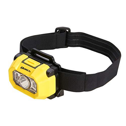 Dorcy Intrinsically Safe 180-Lumen Headlight, Durable, Water-Resistant, Yellow (41-0094)