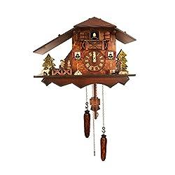 Alexander Taron Seasonal Decorative Collectible Engstler Battery operated Cuckoo Clock Full Size 9.5H x 14W x 6.5D