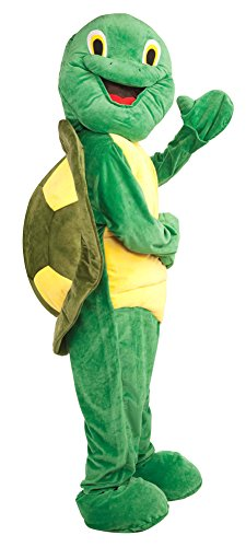 Turtle Mascot Adult Costume Halloween Costume - Most Adults (Turtle Mascot Costume)