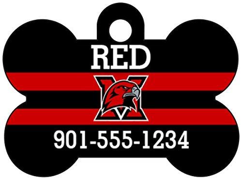Miami Ohio Redhawks MAC Dog Tag Pet Id Tag Personalized w/ Name & Number