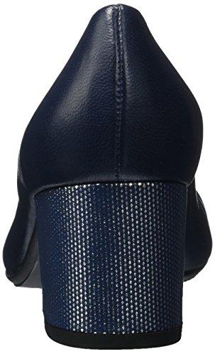 Peter Samoa Claudi Bout Kaiser Fermé Escarpins 840 Bleu notte Femme Crown pqApwr81