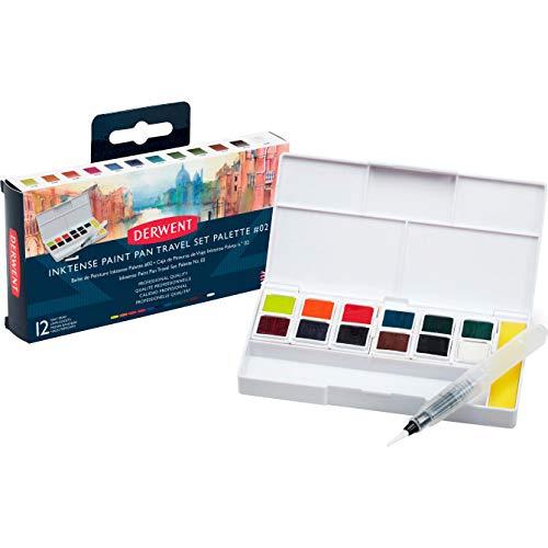 Derwent Inktense Paint Pan Travel Set - palette 2