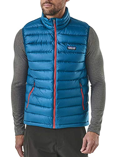 Sur Blue fire Down Patagonia Red Gilet Big W Homme P8wXnNk0O