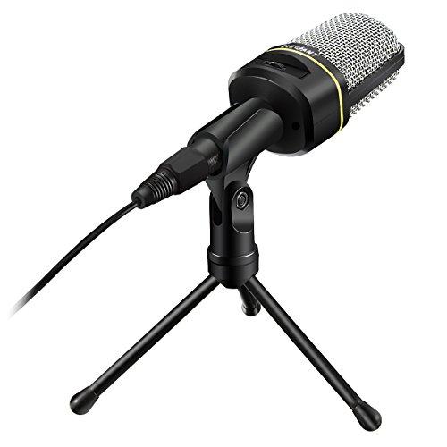 elegiant-sf-920-multimedia-studio-wired-handsfree-condenser-microphone-with-tripod-microphone-stand-