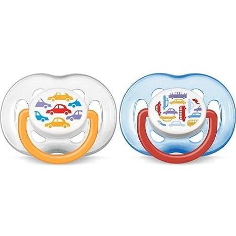 Chupetes Avent de silicona cafeteras 6 - 18 meses: Amazon.es ...