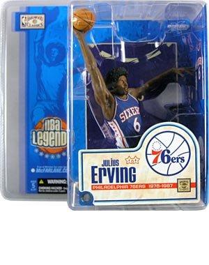 (McFarlane Toys NBA Sports Picks Legends Series 1 Action Figure Dr. J Julius Erving (Philadelphia 76ers) by Unknown)