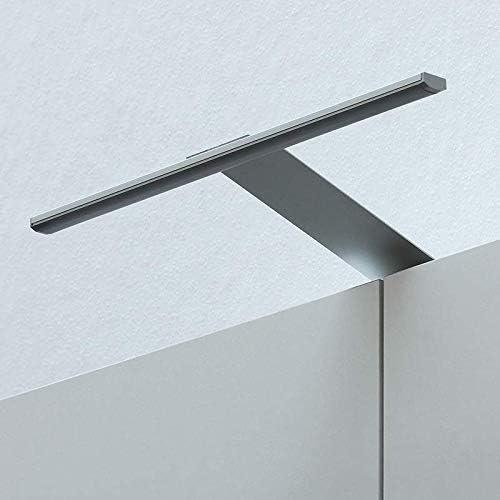 Lampada a LED per specchio 3100 K Warmwei/ß 3100k in alluminio 31 cm per bagno IP44 3 W armadio a specchio da avvitare moderno Aluminium bagno bianco freddo bianco caldo 6200 K