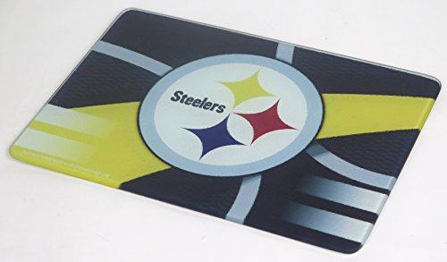 Mother's Day Pittsburgh Steelers Cutting Board. Elegant Large Thick board for mom on Mother's Day. - Memory Company Cutting Board