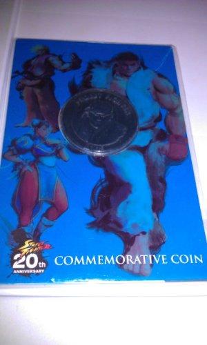 Street Fighter 20Th Anniversary Commemorative Coin