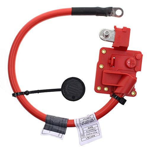 Wire Bmw - AUTOKAY Positive Terminal to Battery Cable Blow Off Cable Lead Wire Plus Pole for BMW E91 E90 Replaces 61129217031