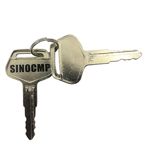 sinocmp-excavator-787-key-for-komatsu-excavator-ignition-key-2-keys-3-years-warranty