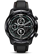 Ticwatch Pro 3 GPS Smart Watch Men Wear OS Watch Qualcomm Snapdragon Wear 4100 Platform Health Fitness Monitoramento 3-45 Dias Bateria GPS integrado NFC Heart Rate Sleep Tracking IP68 À prova d'água