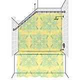 Sloped Ceiling Shower Rod