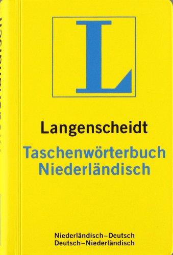 Langenscheidt Taschenwörterbuch Niederländisch: Niederländisch-Deutsch/Deutsch-Niederländisch (Langenscheidt Taschenwörterbücher)