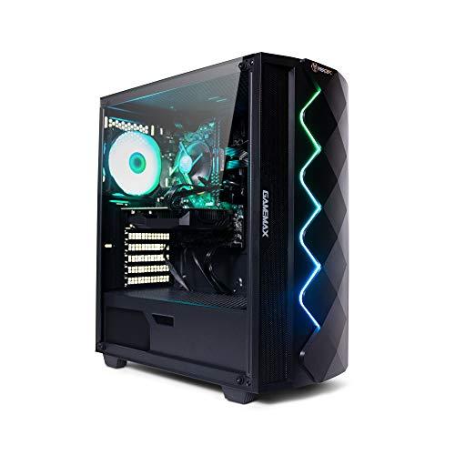 Fierce Gaming PC – Intel Core i5 9400F 4.1GHz, GTX 1650 4GB, 16GB 3000MHz, 240GB Solid State Drive, 1TB Hard Drive…