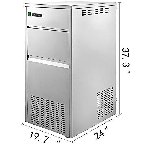 Vevor Machine A Glacons 220v Portable Glace Transparents Bar Pour La Maisonla Refrigeration De Laboratoireles Industries Chimiquesles Hotels