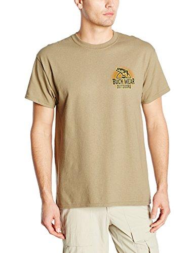 Buck Wear Men's Walleye-Fun T-Shirt