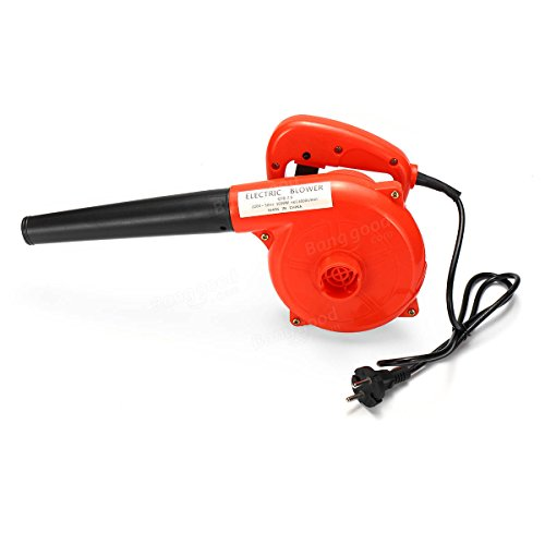 220V 1000W Suck Blow Dust Wiper Dust Settler Electric Operated Air Blower Vacuum Cleaner - Tools & Home Improvement Power Tools - (EU plug) - 1 x 220V Electric Handheld Blower, 1 x Blow Pipe