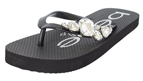 9aef72e51fb6 Girls Rhinestone Flops Sandals Colors product image