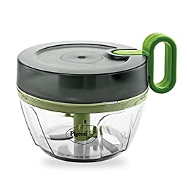 Pigeon Mini Handy Pro (400 ml) and Compact Chopper with 3 Blades for effortlessly Chopping Vegetables and Fruits for…