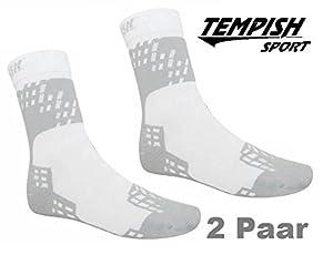 2x Skate Socken, Inliner Socken Tempish Skate Air Midi white 34-48...