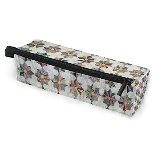 KEAKIA Whirling Star Pencil Case Zipper Eyeglasses Case Sunglasses Pouch Cosmetic Bags with Hanging Loop