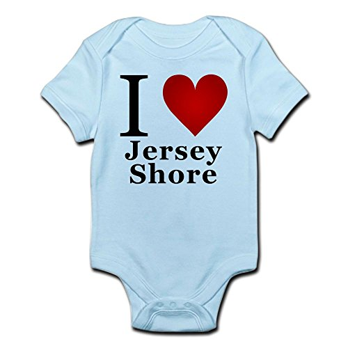 CafePress I Love Jersey Shore Cute Infant Bodysuit Baby ()
