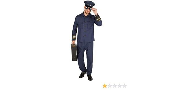 TecTake dressforfun Disfraz de Piloto para Hombre   Preciosa ...