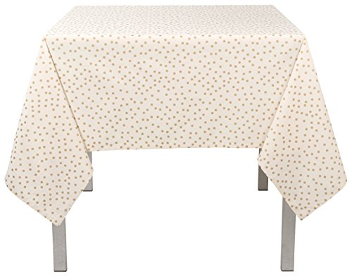 Now Designs 13 by 72 inch Tablerunner, Gala Gold Polka Dot Print -  - tablecloths, kitchen-dining-room-table-linens, kitchen-dining-room - 41UGL0nInaL -