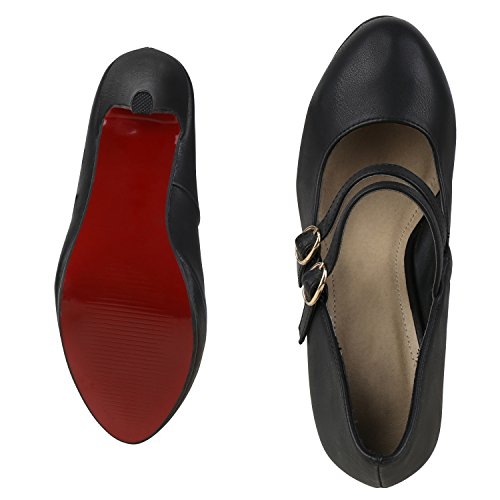 36 negro Cerrado napoli EU Mujer color fashion talla xOZPOqTY8w