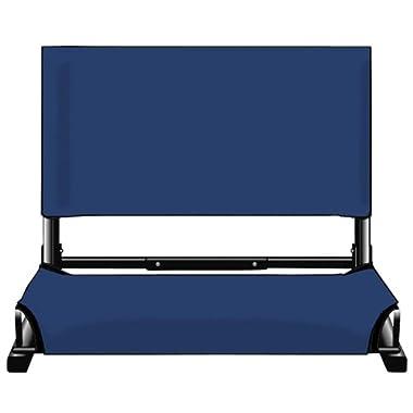 Markwort Patented Deluxe Wide Model Stadiumchair (Navy)