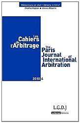 Les Cahiers de l'Arbitrage, N° 4/2010 :