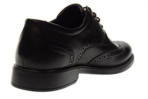 ENVAL SOFT Schuhe Mann geschnürt 88830/00 BLACK Schwarz
