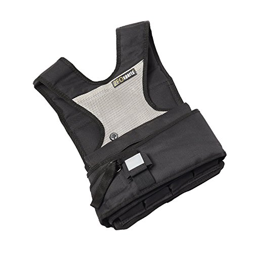 ZFOsports 30LBS Womens Adjustable Weighted Vest With Phone Pocket & Water bottle holder. by ZFOsports