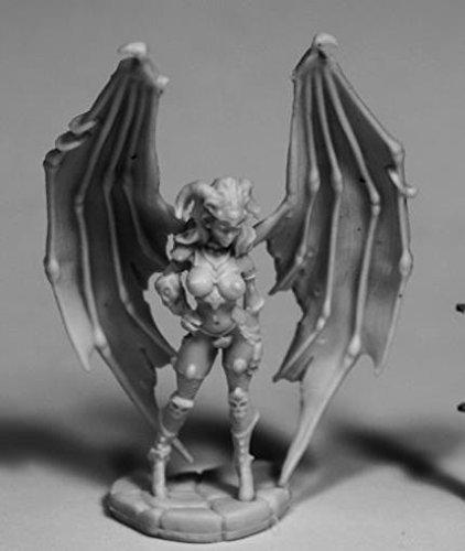 - Reaper Miniatures Eilluvasheth, Succubus Queen#77496 Bones RPG D&D Mini Figure