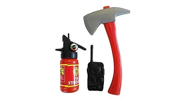 Kit accesorios de bombero niño: Amazon.es: Juguetes y juegos