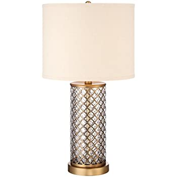 this item brass mercury glass table lamp marley antique bases pottery barn leera sale
