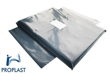 100 x Pro Plast Branded ® STRONG GREY POSTAL MAILING BAGS