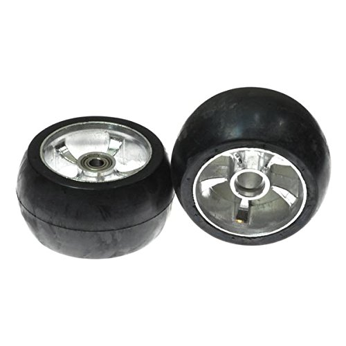AlveyTech Solid Rear Wheels for Razor Ground Force Go Kart (Set of 2)