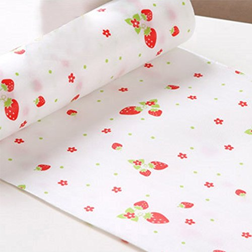 Refrigerator Print - Drawers Moisture Mat Cupboard Liner, Japanese Style Refrigerator Mats Antibacterial Print Pad Non-Slip Household Table Mats Wallpaper Drawer Table Liner 30300cm(Style 3,Style 3)