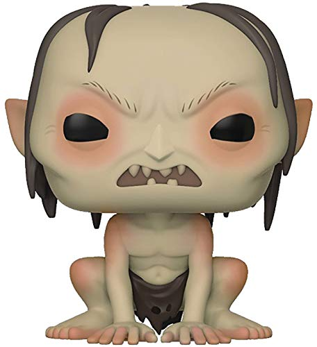 Funko Movies: The Lord of the Rings - Gollum Pop! Vinyl Figure (Includes Compatible Pop Box Protector Case)