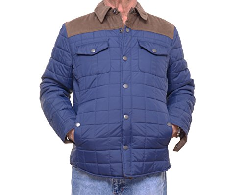 Quilted Colorblock Jacket - 4