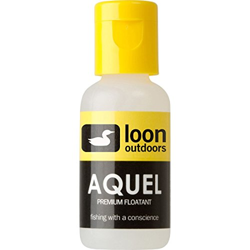 Loon Outdoors Aquel Fly Fishing Floatant Gel Temperature Stable Silicon