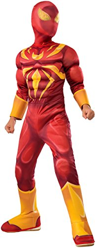 Rubie's Costume Spider-Man Ultimate Deluxe Child Iron Spider Deluxe Child Costume, Small