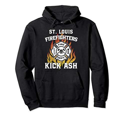 St. Louis Fire Department Hoodie Firefighters Kick Ash