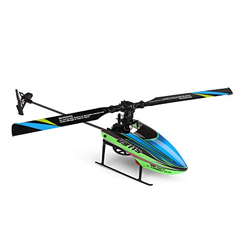 CMrtew ❤️V911S 2.4G 4CH 6-Aixs Gyro Flybarless RC Helicopter RTF – Mode 2 Stable Flight (Green, 33.5x25x9cm / 13.2×9.8×3.5in)