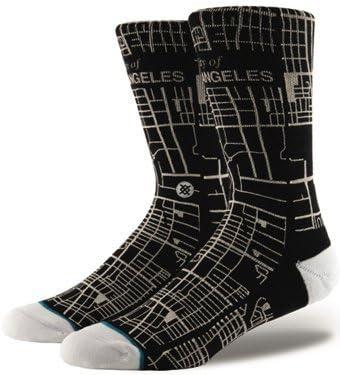 Stance Mens City Of Angels Socks Black M