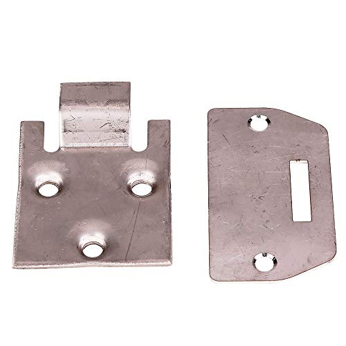(10L0L Seat Hinge and Plate for EZGO Golf Cart TXT Medalist MPT Shuttle Workhorse 1995+Part Numbers)