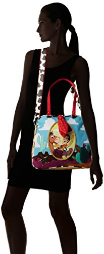 femme Choice Wind cm L Bag Irregular Multi main Like The H 19x30x32 Multicolore Ride Sacs W portés x qSIdwIz