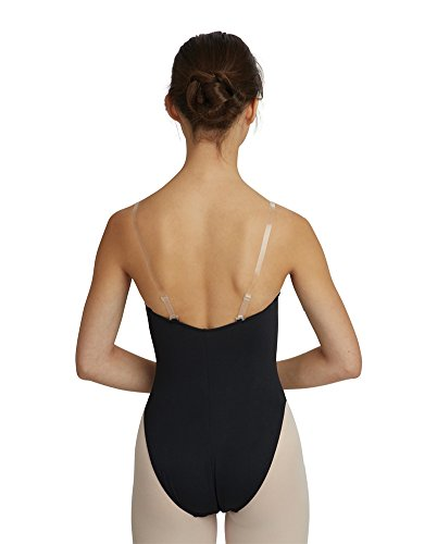 Capezio Women's Replacement Clear Adjustable Shoulder Straps, Clear, One Size - Ballroom Costume Maker